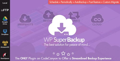 CodeCanyon - Super Backup & Clone v1.9 - Migrate for WordPress - 12943030