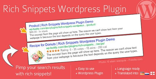 CodeCanyon - Rich Snippets WordPress Plugin v1.6.2 - 3464341