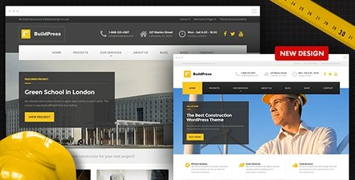 ThemeForest - BuildPress v4.0.2 - Construction Business WP Theme - 9323981
