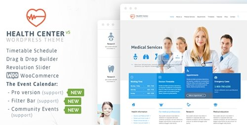 ThemeForest - Health Medical Care v15 - Theme for Medical Health and Dentist Center Clinic - 7322125