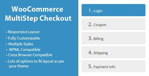 CodeCanyon - WooCommerce MultiStep Checkout Wizard v2.3.7 - 8125187