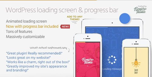 CodeCanyon - PageLoader v2.2 - Loading Screen and Progress Bar for WordPress - 6594364