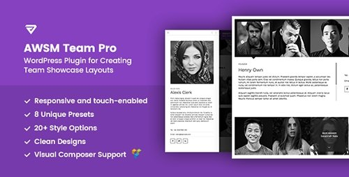 CodeCanyon - The Team Pro v1.0.1 - Team Showcase WordPress Plugin - 17521235