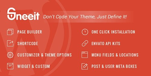 CodeCanyon - Sneeit v3.1 - WordPress Theme Framework for Developers - 13303993