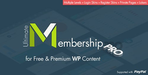 CodeCanyon - Ultimate Membership Pro WordPress Plugin v4.0 - 12159253