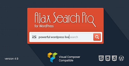 CodeCanyon - Ajax Search Pro for WordPress v4.9.7 - Live Search Plugin - 3357410