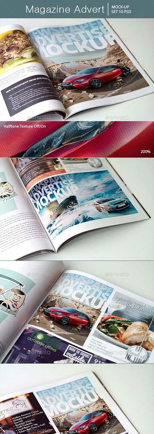 Magazine Advert Mockups - 16511399