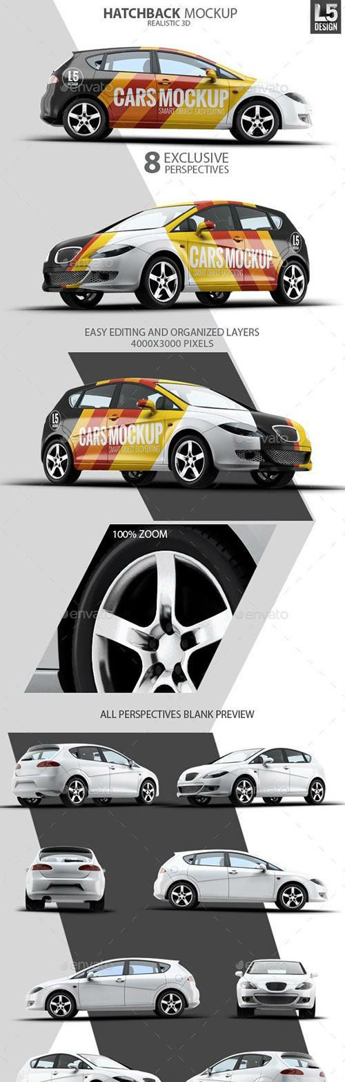 Hatchback Mock-Up - 10269960