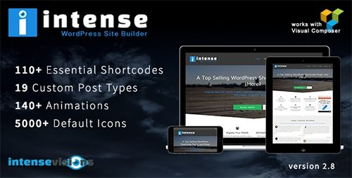 CodeCanyon - Intense v2.8.0 - Shortcodes and Site Builder for WordPress - 5600492