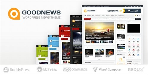 ThemeForest - Goodnews v5.8.5.1 - Responsive WordPress News/Magazine - 1150692