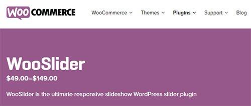 WooCommerce - WooSlider v2.4.0 - WordPress Slider Plugin