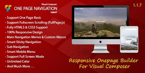 CodeCanyon - Smart One Page Navigation v1.1.7 - Addon For Visual Composer - 14445813