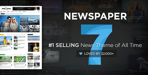ThemeForest - Newspaper v7.4 - Premium WordPress Theme - 5489609