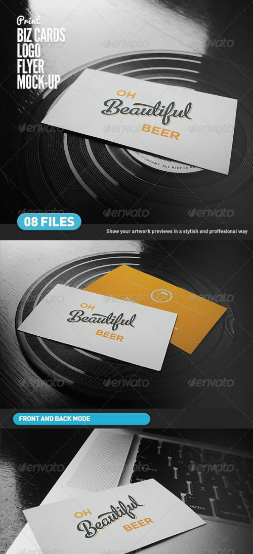 Business Cards | Flyer | Logo Mock-Up - 4639264