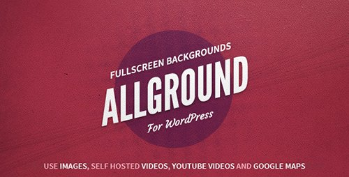CodeCanyon - Allground v1.2.3 - WordPress Fullscreen Background - 4819233