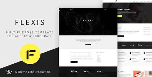ThemeForest - Flexis v1.0 - Multipurpose Bootstrap Template - 16223334
