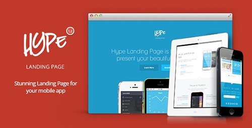 ThemeForest - Hype v1.2 - App Landing Page - 6671565