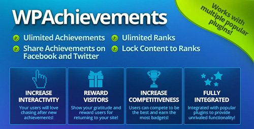 CodeCanyon - WPAchievements v8.0.2 - WordPress Achievements Plugin - 4265703