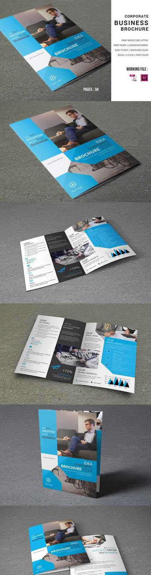 Corporate Brochure Template-V598 893897