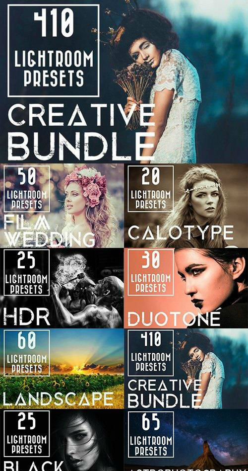 410 Creative LR Presets Bundle - 931728