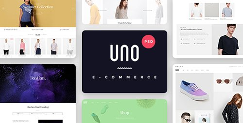ThemeForest - UNO v1.0 - A Multipurpose Shop PSD Template - 16975353