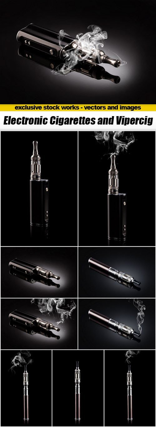 Electronic Cigarettes and Vipercig - 10xUHQ JPEG