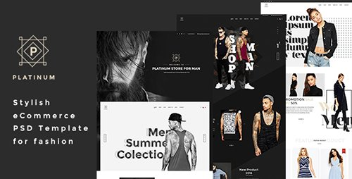 ThemeForest - Platinum v1.0 - Stylish ecommerce PSD Template for Fashion - 15764366