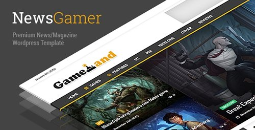 ThemeForest - NewsGamer v1.7.6 - WordPress News / Magazine Theme - 14521155
