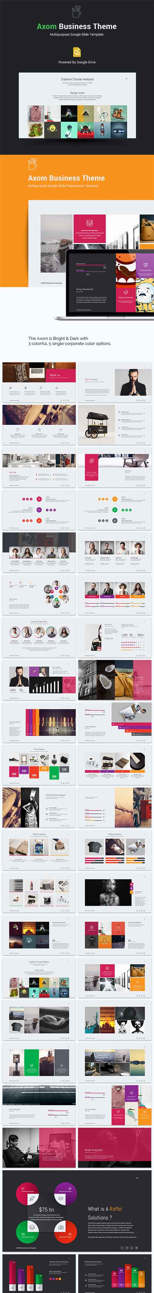 Axom Google Slide Template 15000457
