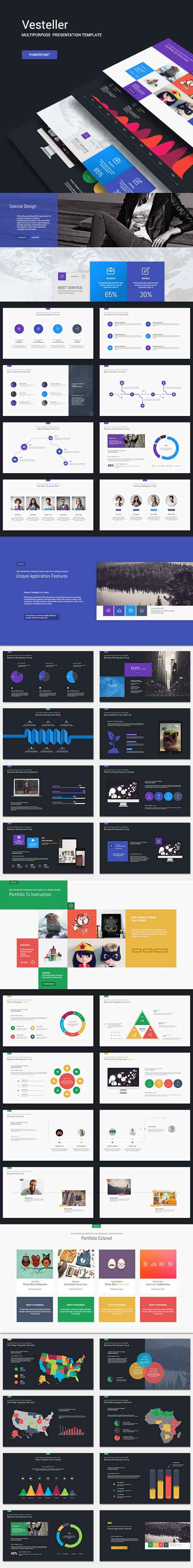 Vesteller - Business template 11431824