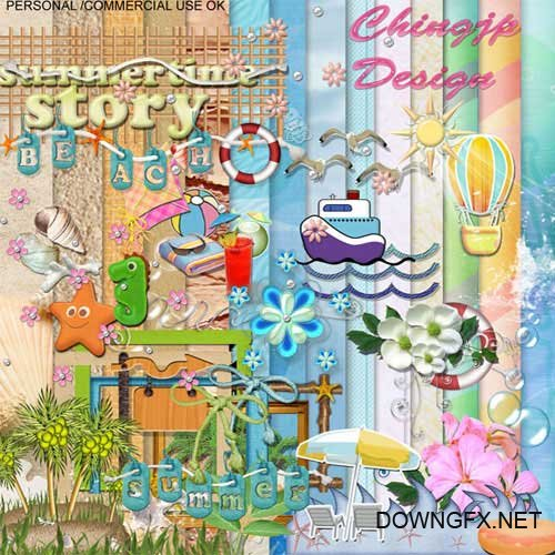 Scrap kit - Summertime Story