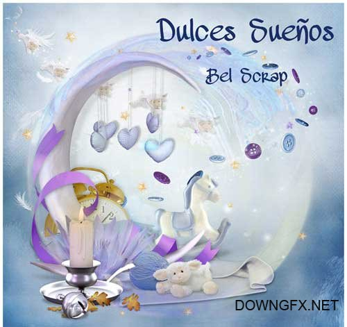 Scrap kit - Dulces Suenos