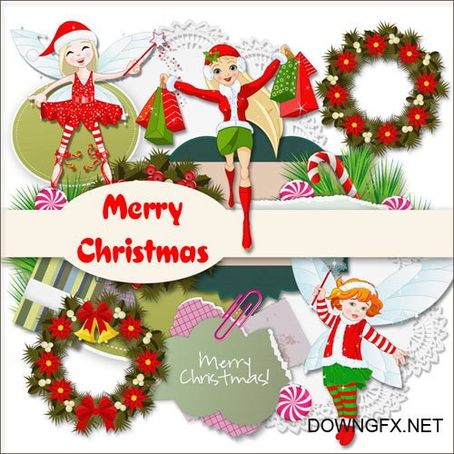 Scrap kit - Merry Christmas