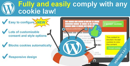 CodeCanyon - WeePie Cookie Allow v3.0.1 - Easy & Complete Cookie Consent Plugin - 10342528