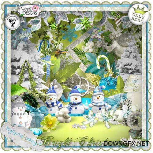 Scrap kit - Bright Christmas