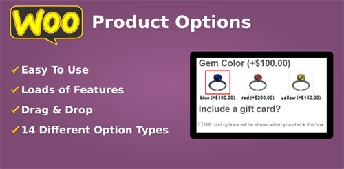 CodeCanyon - Product Options for WooCommerce v4.102 - WP Plugin - 7973927