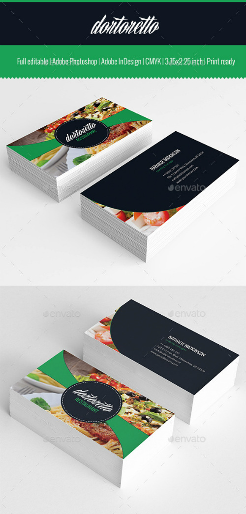 Dortoretto Business Card v2 10399335