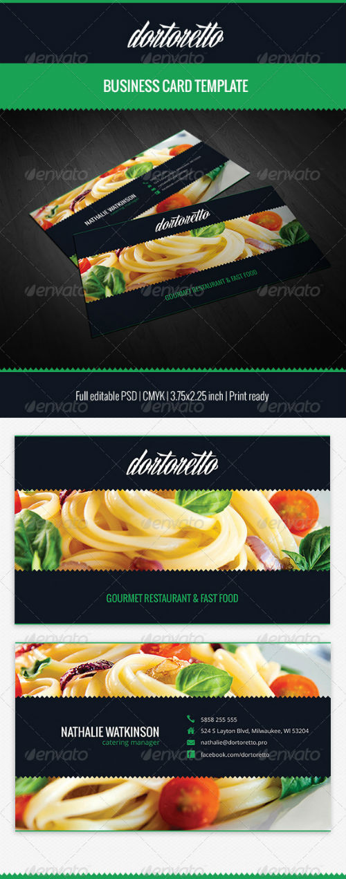 Dortoretto Business Card 5471203