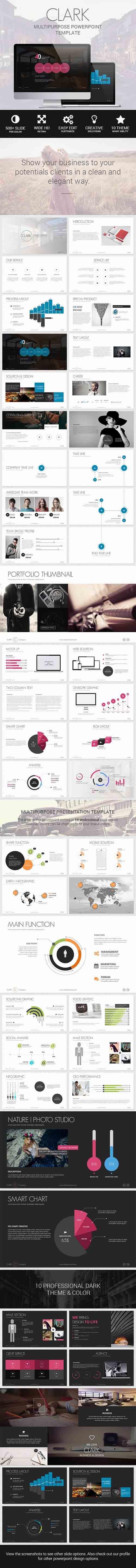 Clark - Business & Marketing Creative Template 8324349