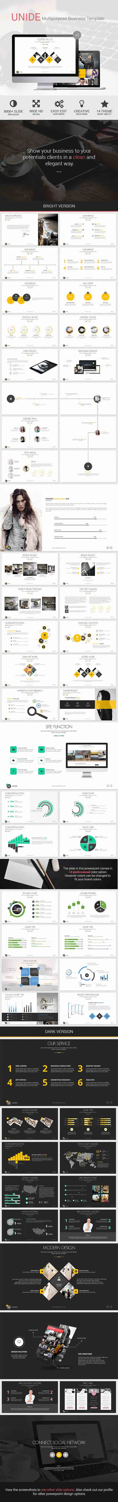 UNIDE - Powerpoint Presentation Template 8586768