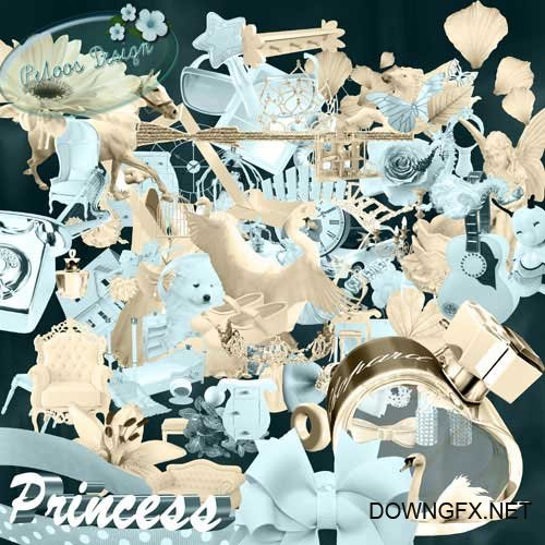 Scrap kit - Princess