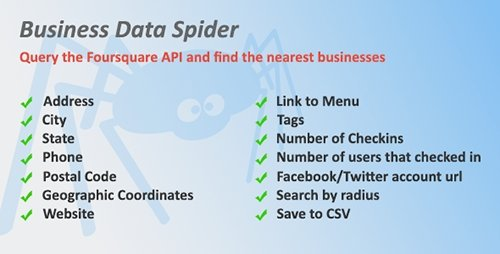 CodeCanyon - Business Data Spider v1.02 - 16852865