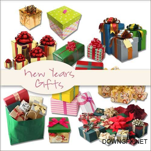 Scrap kit - New Years Gifts