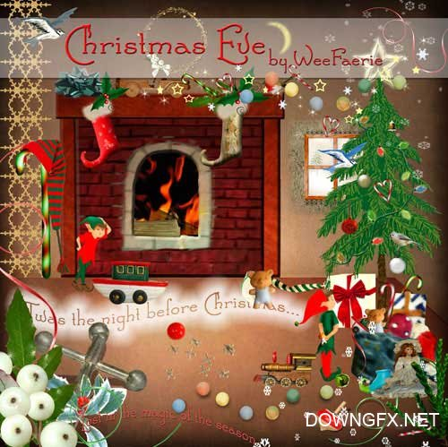 Scrap kit - Christmas Eve