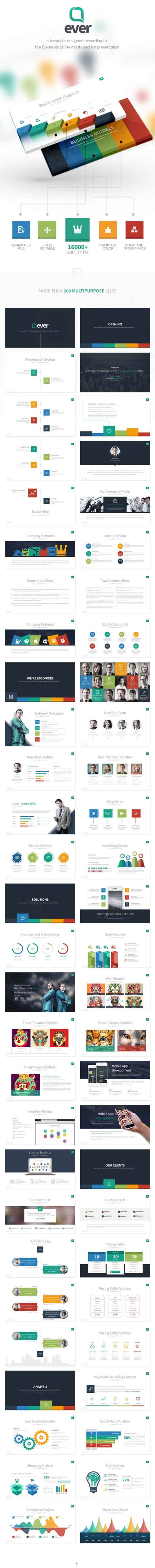 Ever - Multipurpose Presentation Keynote Template 9259052