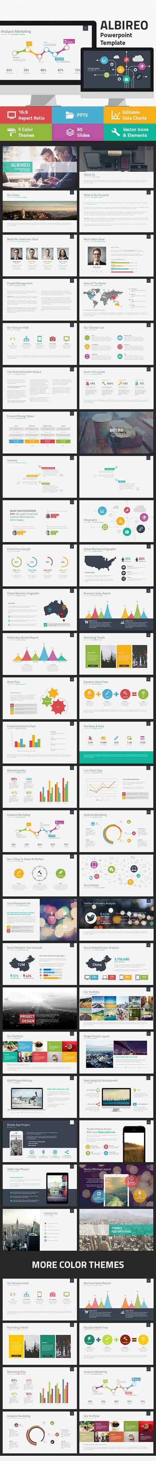 Albireo Powerpoint Template 7826551