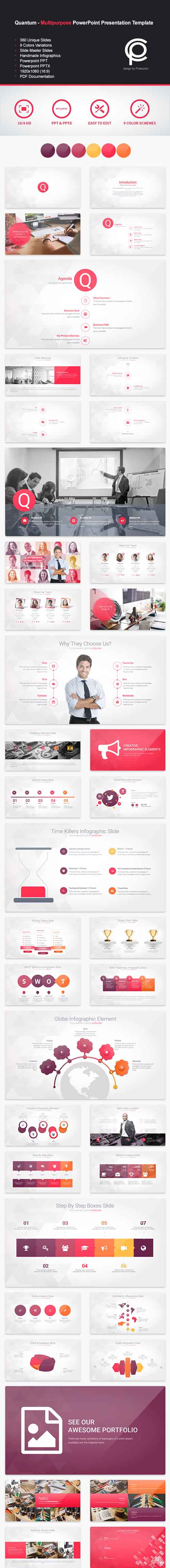 Quantum - Multipurpose PowerPoint Presentation 12469623