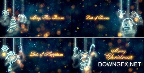 Christmas Titles 18808841 - Project for After Effects (Videohive)