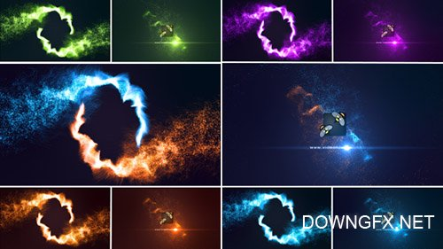 Magic Particles Logo Reveal - Project for After Effects (Videohive