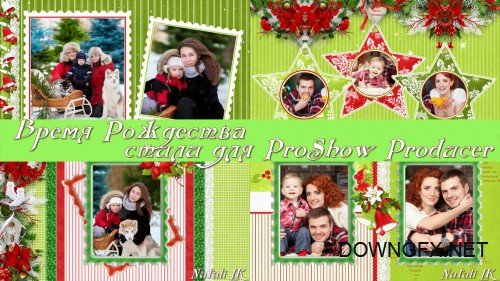 Christmas time - styles for ProShow Producer